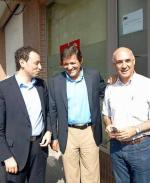 Movilla con Fernández y Martínez